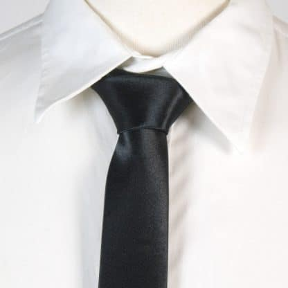 Smalle Zwarte Stropdas